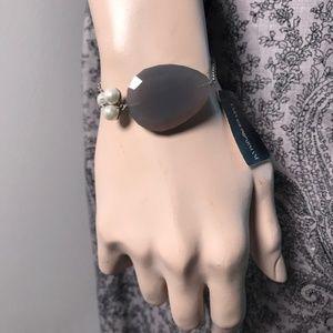 EMPORIO ARMANI Sterling Silver Pearl Bracelet NEW!